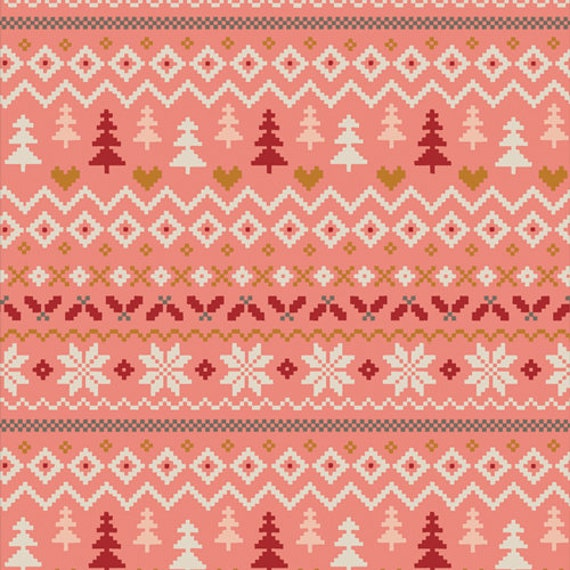 Cozy and Magical- 1/2 Yard Increments, Cut Continuously CMA 25123 Warm & Cozy Candy by Maureen Cracknell for Art Gallery Fabrics