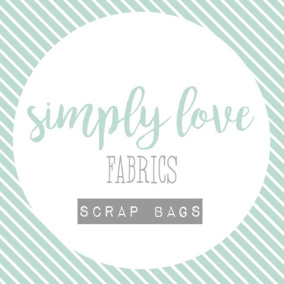 SCRAP BAG Panel Fabrics - 1lbs. 3 oz. (Dolls and Animals)