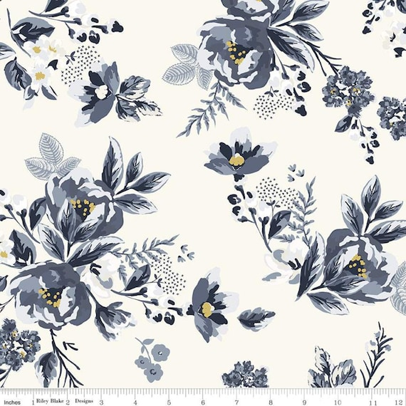 Gingham Foundry -1/2 Yard Increments, cut continuously -  Cream Main - C11130  by My Minds Eye for Riley Blake Designs