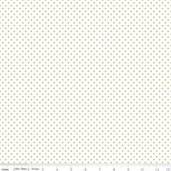 Swiss Dot GOLD by Riley Blake Designs- C660- 1/2 yard Increments, Cut Continuously