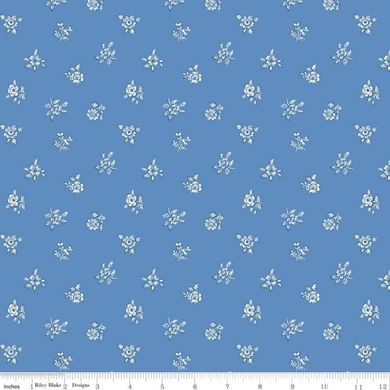 Flower Show Spring for Liberty Fabrics for Riley Blake Designs- 04775717A Abbeywood- 1/2 Yard Increments, Cut Continuously