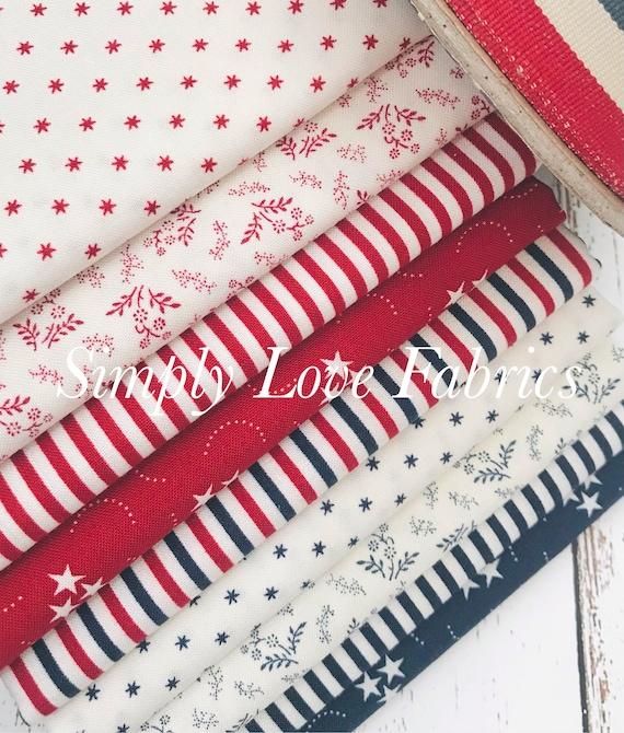 American Gathering- 1/2 Yard Bundle (9 Fabrics) by Primitive Gathering for Moda