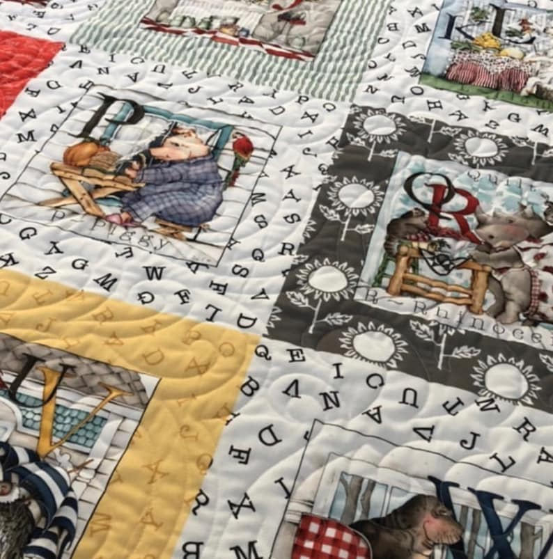 25 Fabrics 12 Yard Bundle by J Wecker Frisch for Riley Blake Designs Hungry Animal Alphabet