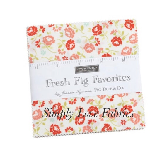 Fresh Fig Favorites- Charm Pack (20410PP- 42 Fabrics) by Fig Tree for Moda