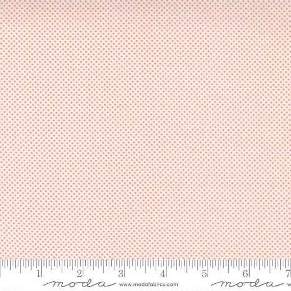 Cozy Up- 1/2 Yard Increments, Cut Continuously (29126 22 Pin Dot Cloud Cinnamon) by Corey Yoder for Moda Fabrics