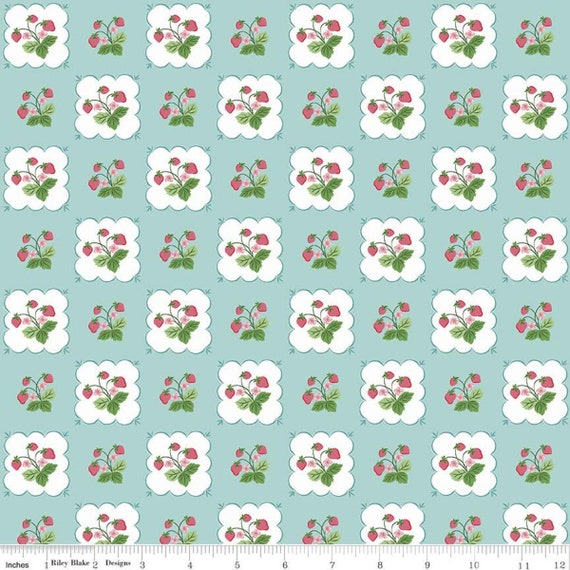 Summer Picnic - 1/2 Yard Increments, Cut Continuously - C10751 Songbird Tablecloth by Melissa Mortenson for Riley Blake Designs