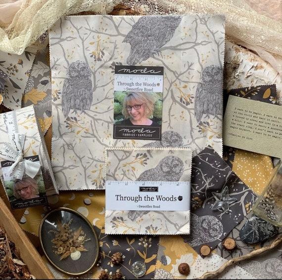Through the Woods- Layer Cake (43110LC- 42 Fabrics) by Sweetfire Road for Moda