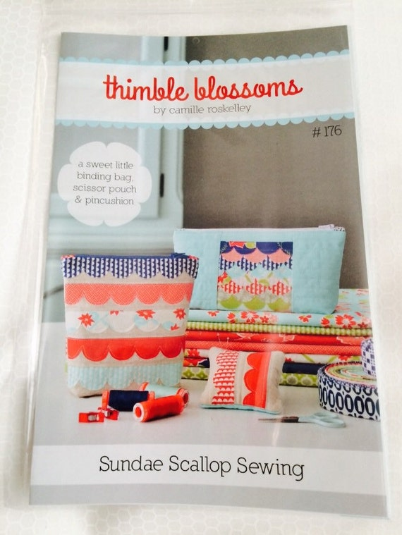 Sundae Scallop Sewing Pattern by Thimble Blossoms by Camille Roskelley for Moda- TB176