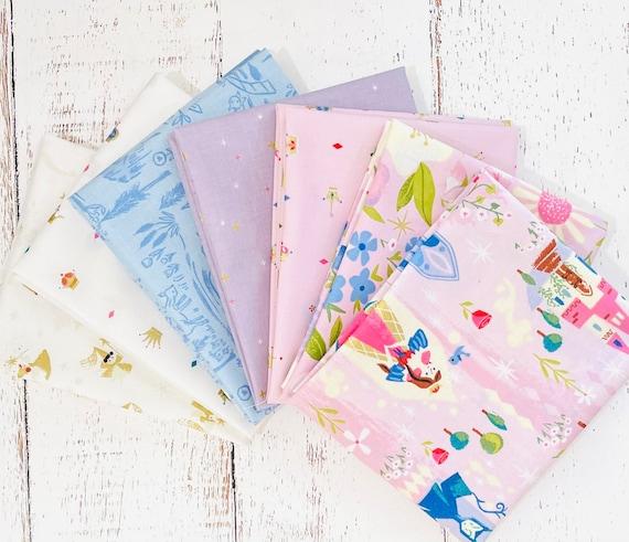 Little Brier Rose -Fat Quarter Bundle- 7 Fabrics by Jill Howarth for Riley Blake Designs