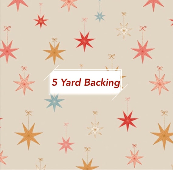 5 Yard Backing- Cozy and Magical- CMA 25132 Let it Glow by Maureen Cracknell for Art Gallery Fabrics