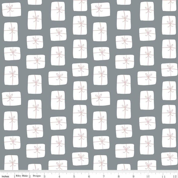 Warm Wishes -1/2 Yard Increments, Cut Continuously - (C10784 Stone  Packages) by Simple Simon and Company