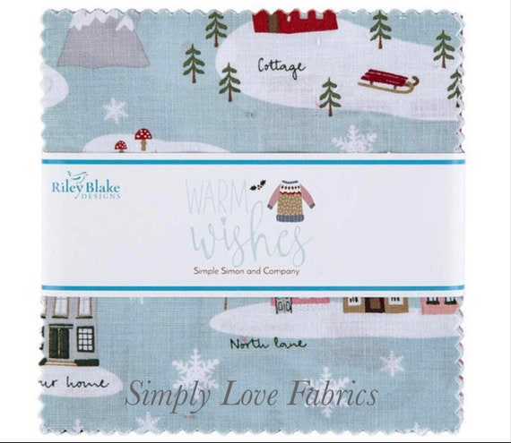 """Warm Wishes- 5"""" Stacker (5-10780-42) by Simple Simon and Company"""