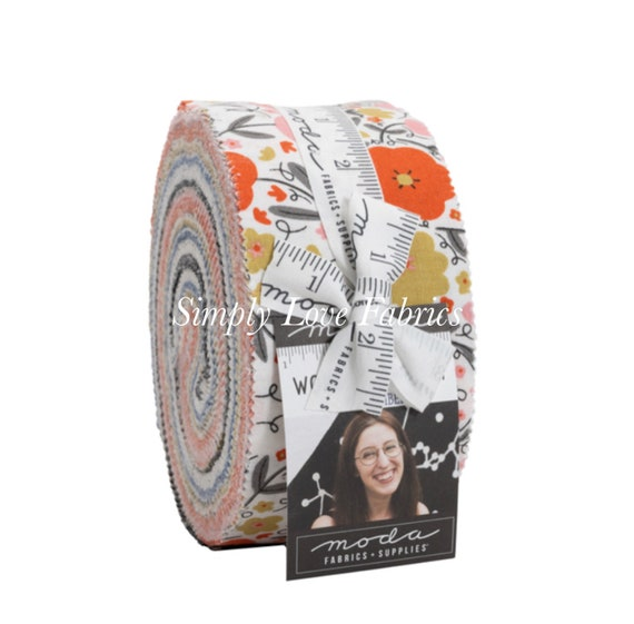 Words To Live By- Jelly Roll- 48320JR- 40 Fabrics -by Gingiber for Moda