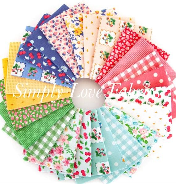 Summer Picnic - Fat Quarter Bundle FQ-10750 (24 Fabrics) by Melissa Mortenson for Riley Blake Designs