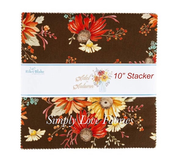 """Adel in Autumn - 10"""" Stacker (10-10820-42) by Sandy Gervais for Riley Blake Designs"""