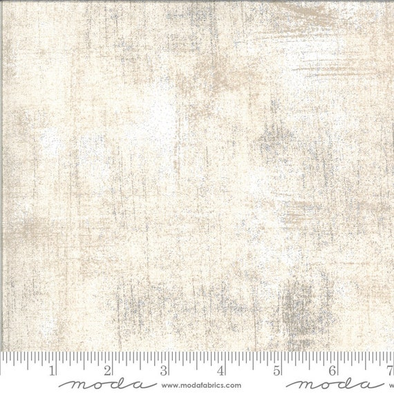 Cider- 1/2 Yard Increments, Cut Continuously- Grunge 30150-542 Roasted Marshmallow -by Basic Grey for Moda