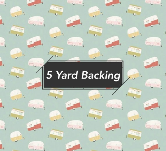 5 Yard Backing- Joy in the Journey (C10682 Mint) by Dani Mogstad for  Riley Blake Designs
