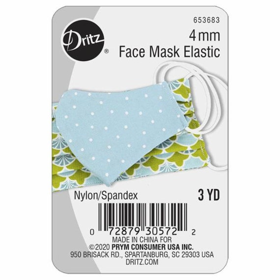 Face Mask Elastic- Package of 3 Yards -653683