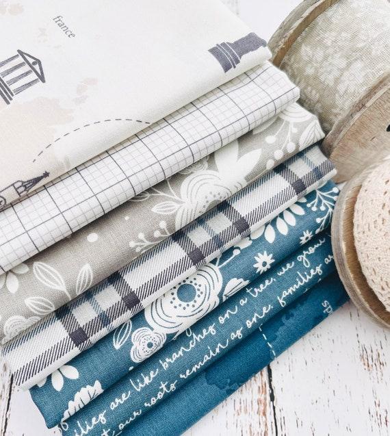 My Heritage- 1/2 Yard Bundle (7 Fabrics) by My Minds Eye for Riley Blake Designs