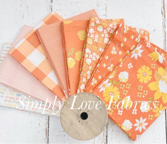 Cozy Up- Fat Quarter Bundle (9 Orange Fabrics) by Corey Yoder for Moda Fabrics