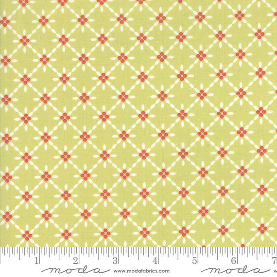 Holliberry (1/2 Yard Increments, Cut Continuously) 29094-14 Sprig Sparkle- Corey Yoder for Moda Fabrics
