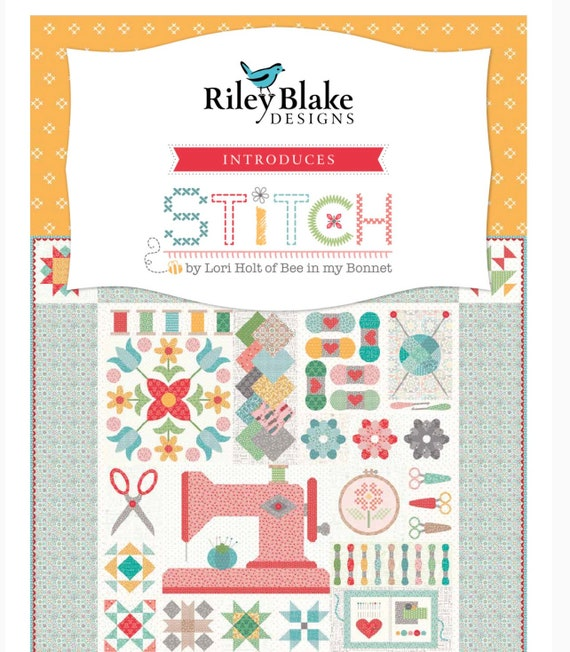 "Stitch- 5"" Stacker (5-10920-42 Fabrics) by Lori Holt for Riley Blake Designs"