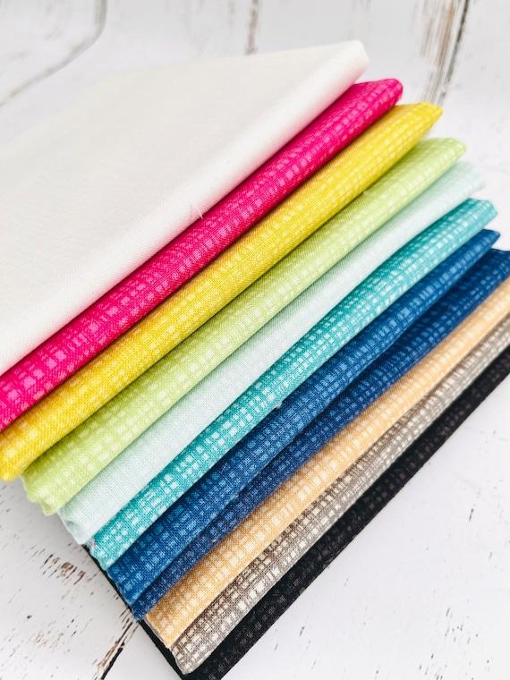 Texture- 1/4 Yard Bundle (11 Fabrics) by Sandy Gervais for Riley Blake Designs-C610