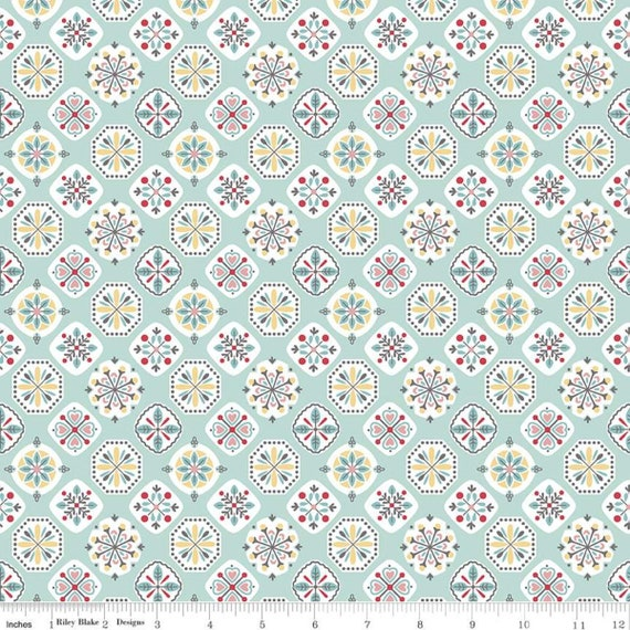 Stitch- 1/2 Yard Increments, Cut Continuously  (C10923 Songbird Applique) by Lori Holt for Riley Blake Designs
