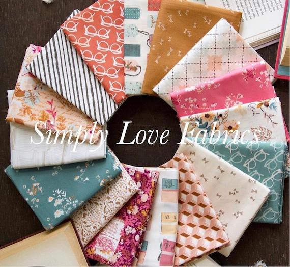 Bookish-Fat Quarter Bundle (FQW-BKS 16 Fabrics) by Sharon Holland for Art Gallery fabrics