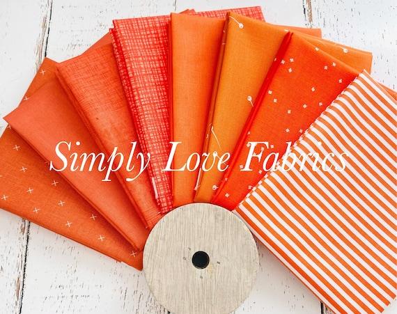 Fall Basics Fat Quarter Bundle- 8 Autumn Fabrics- Riley Blake Designs