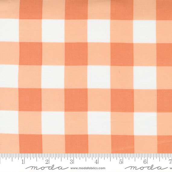 Cozy Up- 1/2 Yard Increments, Cut Continuously (29125 12 Buffalo Check Cinnamon) by Corey Yoder for Moda Fabrics
