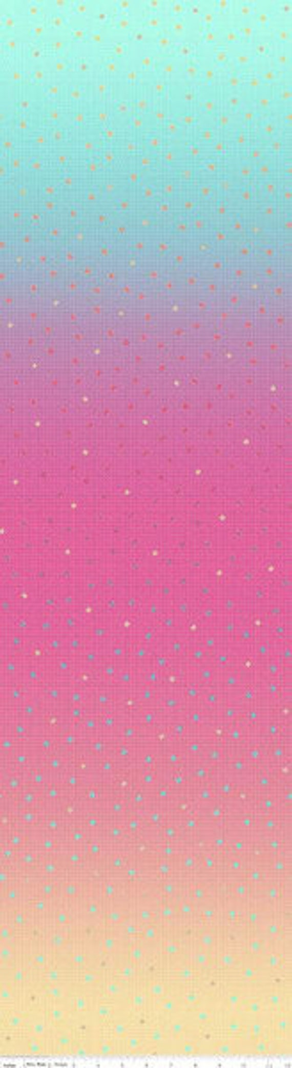 Gem Stones BRIGHTS (1/2 Yard Increments, Cut Continuously) C8350 FLAMINGO- by PSD2 for Riley Blake Designs