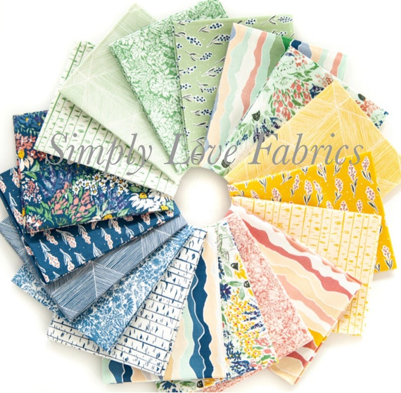 Rocky Mountain- Fat Quarter Bundle (FQ- Fabrics) by Corrine Wells for Riley Blake Designs