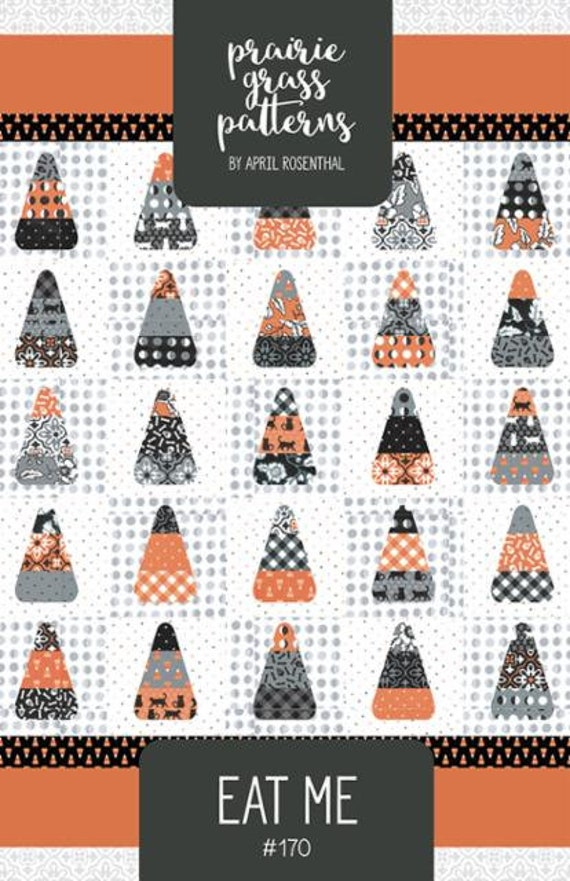 Eat Me PAPER Quilt Pattern (PGP 170) by April Rosenthal for Moda using Midnight Magic 2 Fabric