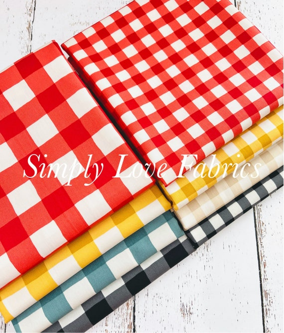 Plaid of My Dreams - 1/2  Bundle Options by Maureen Cracknell for Art Gallery Fabrics