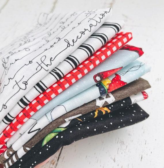 Snow Sweet- 1/4 Yard Bundle (8 Fabrics)- J Wecker Frisch for Riley Blake Designs