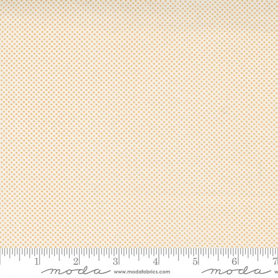 Cozy Up- 1/2 Yard Increments, Cut Continuously (29126 23 Pin Dot Cloud Sunshine) by Corey Yoder for Moda Fabrics