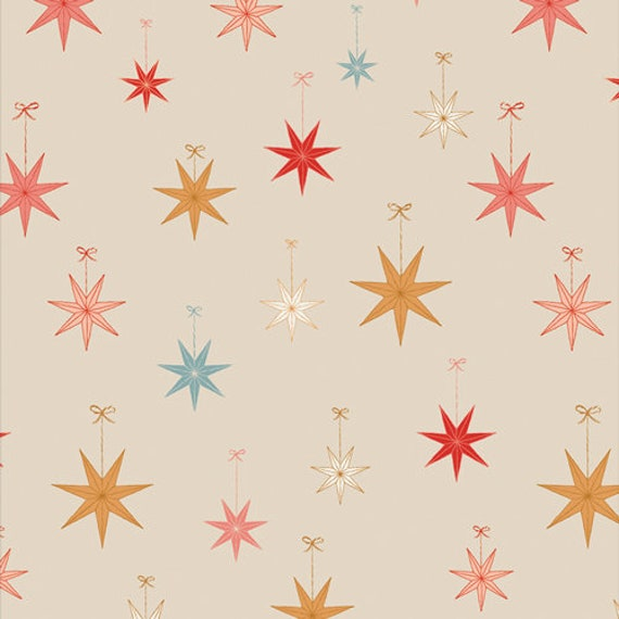 Cozy and Magical- 1/2 Yard Increments, Cut Continuously CMA 25132 Let it Glow by Maureen Cracknell for Art Gallery Fabrics