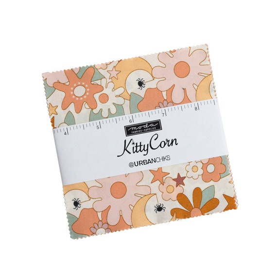 Kitty Corn- Charm Pack (31170PP- 42 Fabrics) by Urban Chiks for Moda