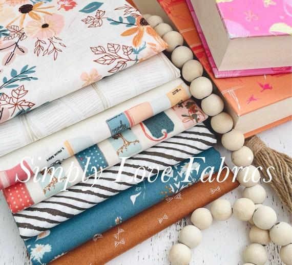 Bookish- 1/2 Yard Bundle (7 Fabrics) by Sharon Holland for Art Gallery fabrics