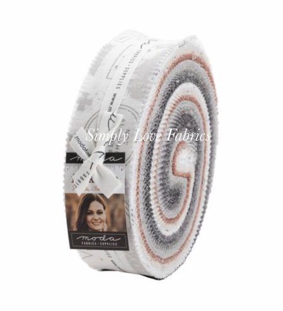 Smoke and Rust-Honey Bun (5130HB-40 Fabrics) by Lella Boutique for Moda