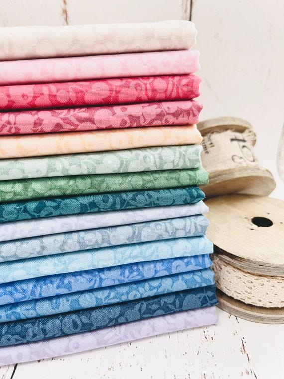 Wiltshire Shadow- 1/2 Yard Bundle (15 Fabrics) for Liberty Fabrics for Riley Blake Designs