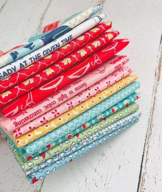 1/4 Yard Bundle (13 Fabrics) Vintage Happy 2 by Riley Blake Designs