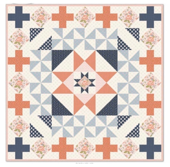 Patchwork Paddock Quilt PAPER Pattern by Melissa Mortenson- Finished Quilt Size Options Throw and Twin