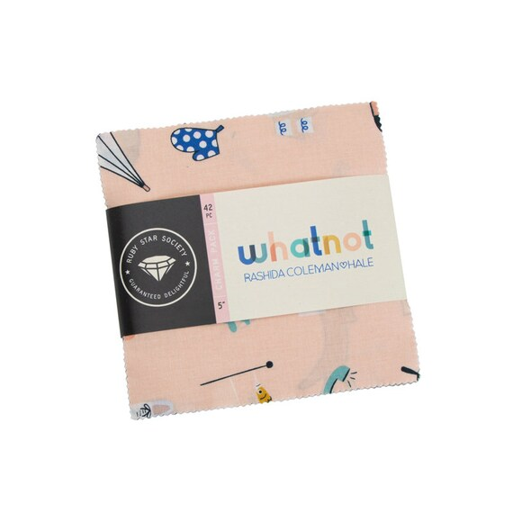 Whatnot- Charm Pack (42 Fabrics) RS1012PP by Rashida Coleman Hale for Ruby Star Society