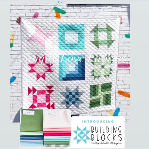 RBD Building Block Quilt Kit- Using Confetti Cottons