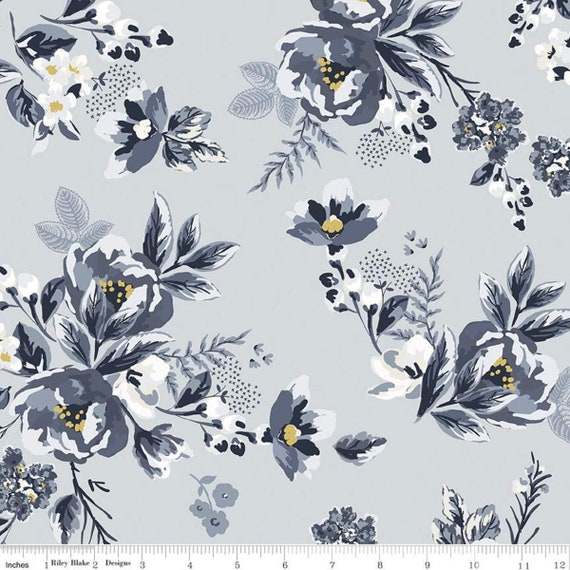 Gingham Foundry -1/2 Yard Increments, cut continuously - Mist Main - C11130  by My Minds Eye for Riley Blake Designs