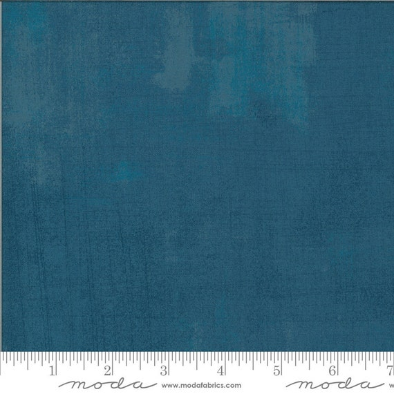 Cider- 1/2 Yard Increments, Cut Continuously- Grunge 30150-548 Blueberry Buckle -by Basic Grey for Moda
