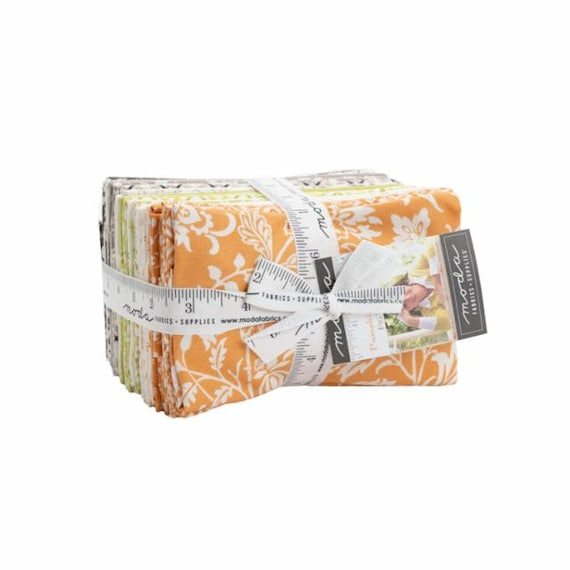 Pumpkins and Blossoms- Fat Eighth Bundle (20420F8- 38 Fabrics) by Fig Tree for Moda