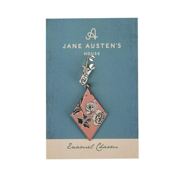 MARKED DOWN! Jane Austen Enamel Charm- ST-15994- by Riley Blake Designs